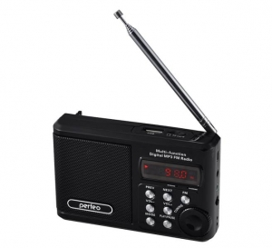 Колонки Perfeo Sound Ranger, FM MP3 USB microSDIn/Out ридерBL-5C1000mAh.черн, (PF-SV922BК)